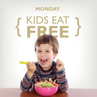 Monday Kids Eat Free